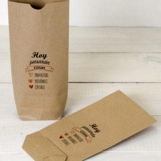 bolsas kraft personalizadas para bodas